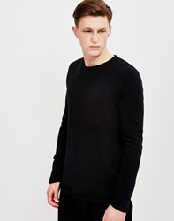 Edwin Terry Long Sleeved T Shirt Black
