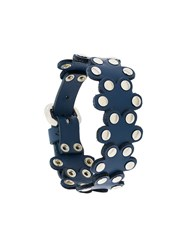 Red Valentino Flower Puzzle Bracelet Blue