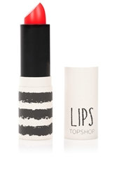 Topshop Lips In Falling Fast Bright Coral
