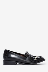 Nasty Gal Jeffrey Campbell Eschela Leather Loafers
