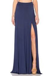 Rachel Pally X Revolve Josefine Maxi Skirt Navy