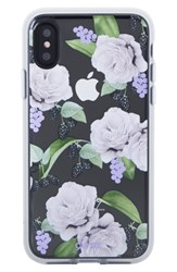 Sonix Floral Berry Iphone X Case White White Lilac