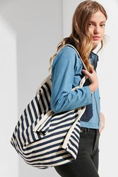 Urban Outfitters Loop Pyramid Tote Bag Navy