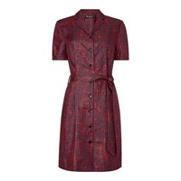 Aquascutum London India Printed Shirt Dress