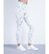 Varley Pacific Python Compression Leggings