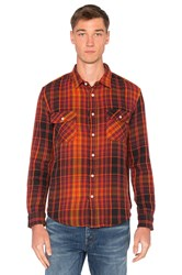 Levi's Shorthorn Shirt Orange