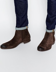 Selected Homme Yannick Suede Boot Brown