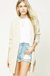 Forever 21 Longline Open Front Cardigan