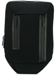 Y 3 Flat Backpack Black