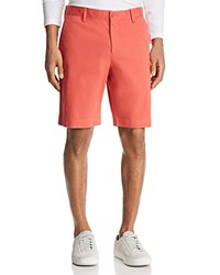 Bloomingdale's The Men's Store At Twill Regular Fit Shorts 100 Exclusive Red