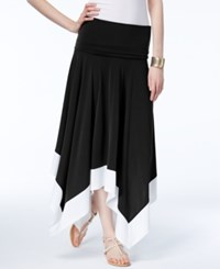 Inc International Concepts Convertible Maxi Skirt Only At Macy's Black White