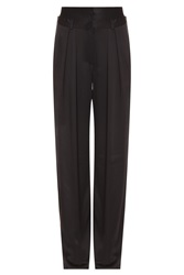 Paul And Joe Satin High Waisted Trousers