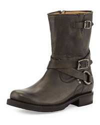 Veronica Harness Short Boot Black Frye