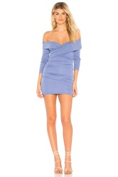 Majorelle Cypress Mini Dress Blue