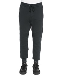 Belstaff Ashdown Tapered Moto Sweatpants Black
