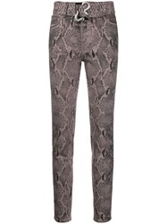 Just Cavalli Belted High Rise Skinny Jeans 60