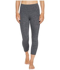 Lorna Jane Booty Support 7 8 Tights Char Marl Women's Casual Pants Gray