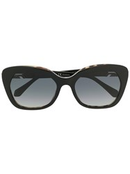 Bulgari Serpenti Cat Eye Sunglasses Black