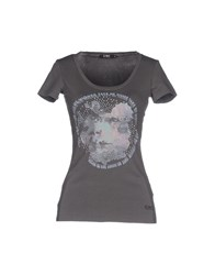 Cnc Costume National C'n'c' Costume National Topwear T Shirts Women Grey