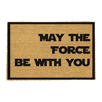 Artsy Doormats May The Force Be With You Door Mat