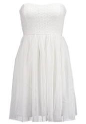 Only Onlprincess Cocktail Dress Party Dress Cloud Dancer Off White