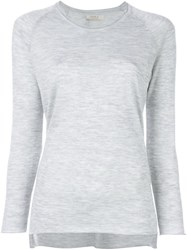Liska Raglan Sleeve Sweater Grey