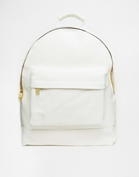 Mi Pac Perforated Backpack 002White