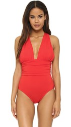 Michael Kors Cross Front Maillot Coral
