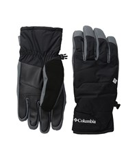 Columbia Whirlibird Short Gloves Black Graphite Ski Gloves