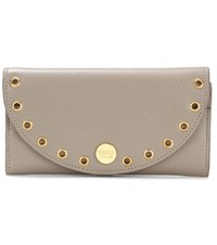 See By Chloe Kriss Embellished Leather Wallet Beige
