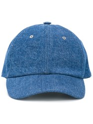 Sunnei Denim Cap Blue