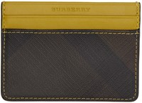 Burberry Yellow Sandon Card Holder