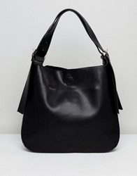 Lavand Slouchy Shoulder Bag Black