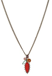Konplott La Maitresse Necklace Multi Green Multicoloured