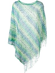 Missoni Semi Sheer Textured Fringed Lightweight Tunic