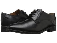 Bostonian Garvan Plain Black Leather Men's Plain Toe Shoes