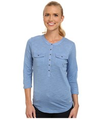 Kuhl Khloe Ice Blue Women's Long Sleeve Pullover