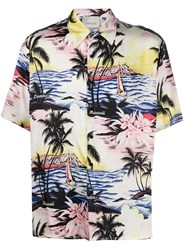 Laneus Printed Hawaii Shirt 60