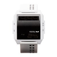 Vestal Digichord Watch White Black