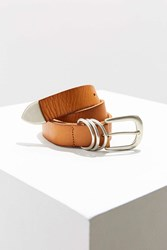 Urban Outfitters Mid Rings Belt Brown