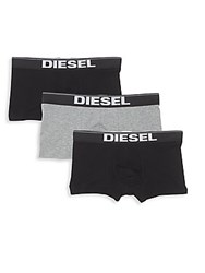 Diesel Rocco Boxer Trunks 3 Pack Midnight Multi