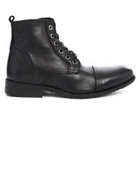 Selected Black Leather Boots Sel Taylor
