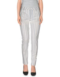 Jacob Cohen Jacob Coh N Trousers Casual Trousers Women White