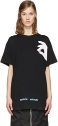 Off White Black Hand T Shirt