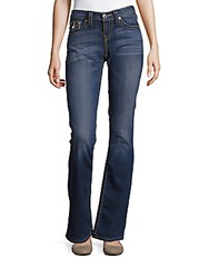 True Religion Five Pocket Flared Jeans Blue