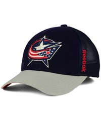 Reebok Columbus Blue Jackets Tnt Adjustable Cap