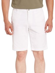 Ag Green Label Canyon Shorts Bright White Auburn Grey