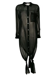 Forte Forte Black Long Shirt