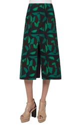 Akris Women's Print A Line Skirt