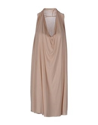 Spina Knee Length Dresses Light Pink